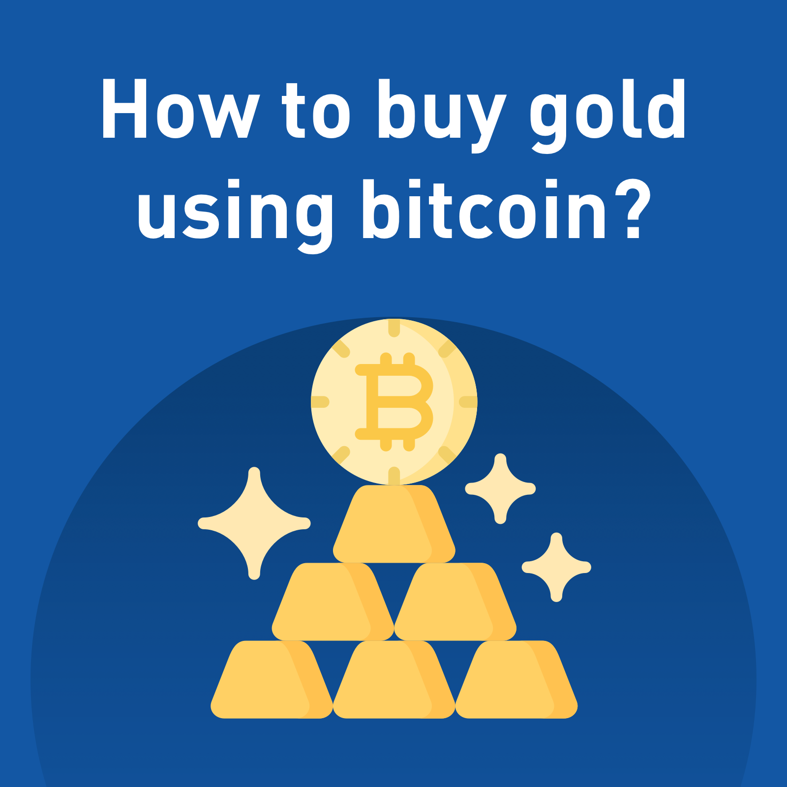 Buy gold with bitcoins