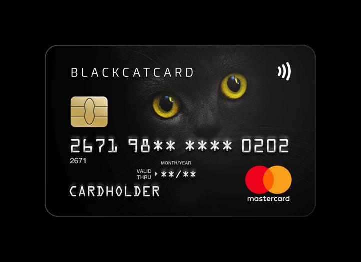 BlackCatCard - Prepaid Card