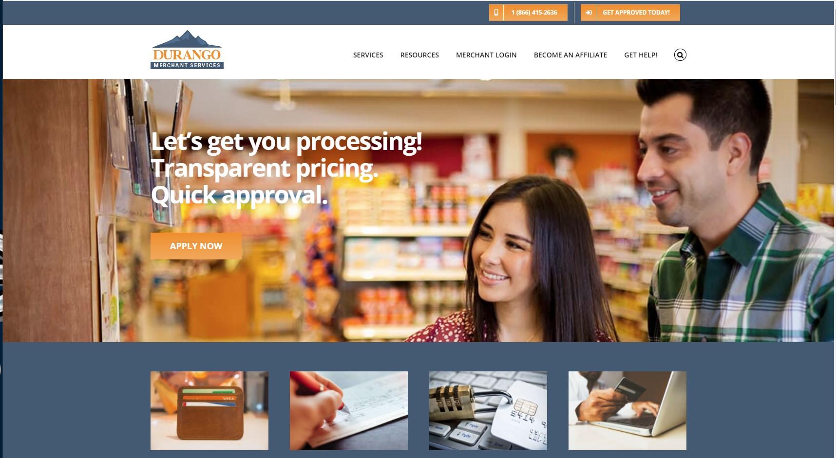 Durango Merchant Services- Payment Service Provider