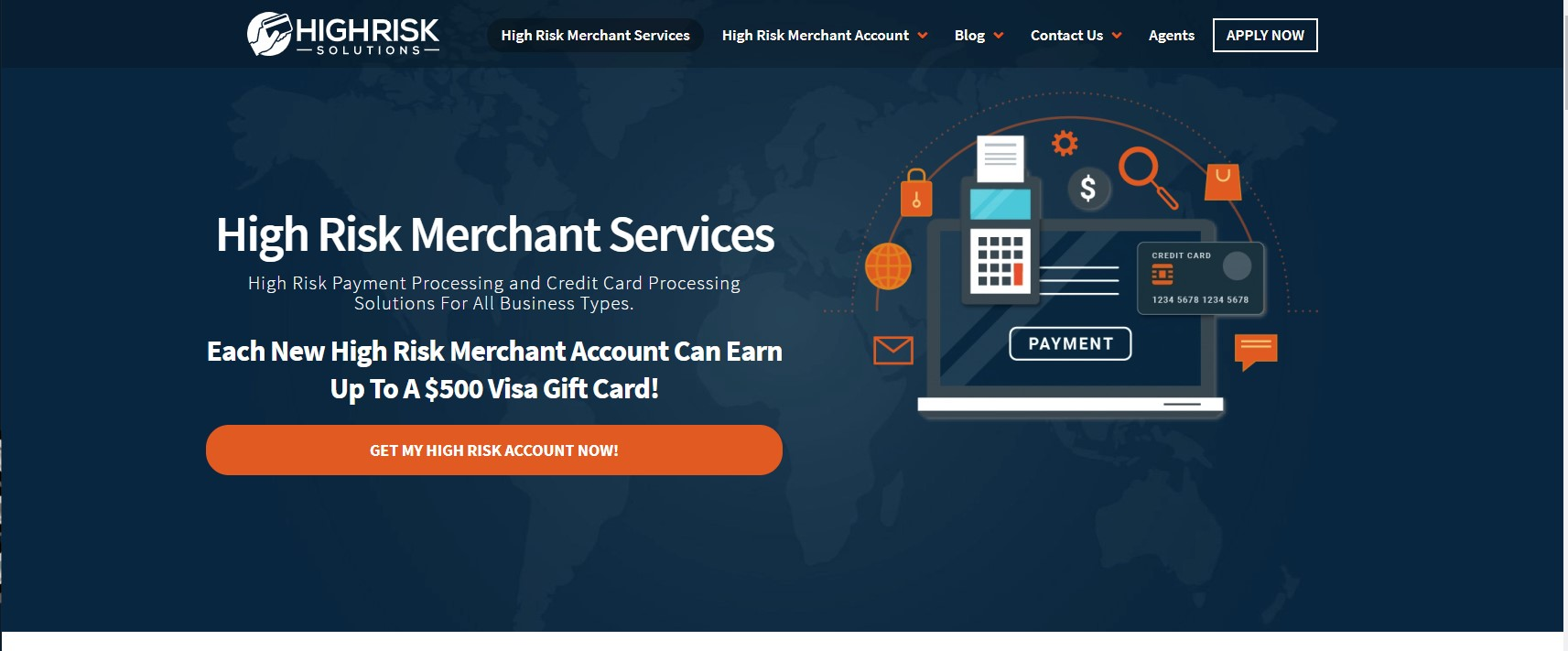 High Risk Merchant Services - Payment Gateway